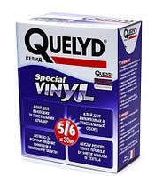 QUELYD ВИНИЛ, 300гр. клей для виниловых шелкографии текстильных велюровых обоев