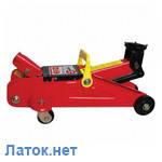 Домкрат гидравлический подкатной 2т GT0108 Intertool  высота 135-385мм
