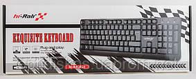Клавиатура Hi-Rali HI-KB2023, USB, черная, фото 3