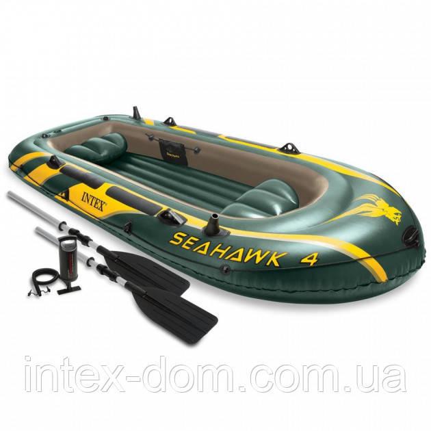 Надувная лодка Intex Seahawk 4 Set (68351)
