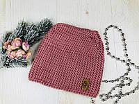 """Зимняя женская шапка """"Ugg"""". Отличное качество, шерсть+акрил"""