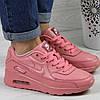 Женские кроссовки Найк 4366 розовый цвет