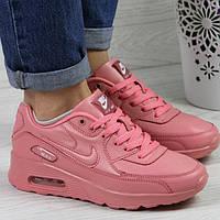 Женские кроссовки Найк 4366 розовый цвет, фото 1
