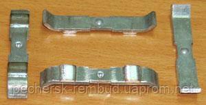 Контакты  КПЕ (КПД)4 подвижные медь