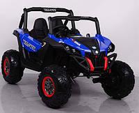 Детский электромобиль джип BUGGY M 3602EBLR-4, синий