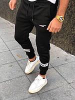 Мужские штаны  givenchy хлопок (чёрный)