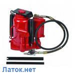 Домкрат бутылочный пневмо гидравлический 30т ZX1001D Best