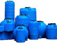 Пластиковые емкости, баки, бочки 1000, 750, 500, 400, 350, 300, 250, 200, 150, 100 литров