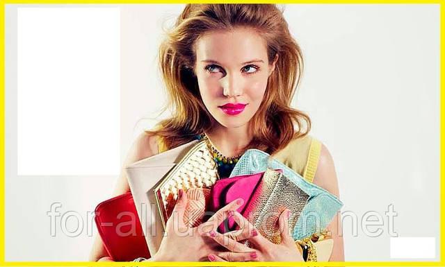 Фото подарка женщине на день Влюбленных. Клатч кошелек