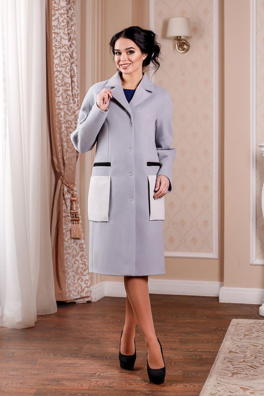 Демісезонне жіноче пальто з кашеміру на підкладі  продажа abe9938e28f6f