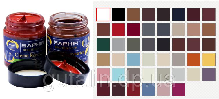 Рідка Шкіра - крем Saphir Creme Renovatrice 30 мл колір темно-синій(06)