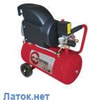 Компрессор 24л 8атм 206л/мин 220В PT-0010 Intertool 1.5кВт 2HP, фото 1