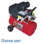 Компрессор 24л 8атм 206л/мин 220В PT-0009 Intertool 1.5кВт 2HP