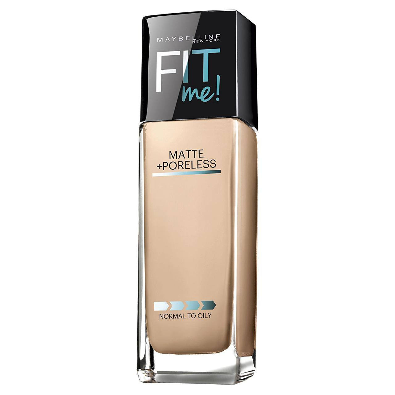 Матирующая тональная основа Maybelline Fit Me Matte + Poreless Foundation 120 Classic Ivory