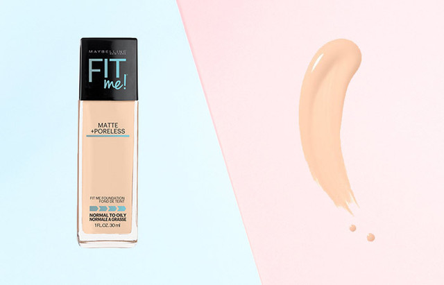 Maybelline Fit Me Matte + Poreless Foundation Classic Ivory