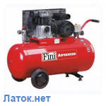 Компрессор 150 л 10 атм 365 л/мин 220В MK103-150-3M(230/50) BNHC504FNM509 Fini