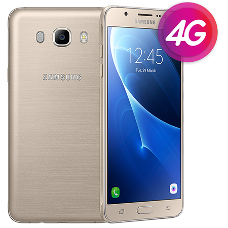 "Смартфон Samsung J710F Galaxy J7 Gold, 2/16Gb, 8 ядер, 13/5Мп, 5.5"", 2 sim, 4G, 3300mAh."