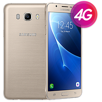 "Смартфон Samsung J710F Galaxy J7 Gold, 2/16Gb, 8 ядер, 13/5Мп, 5.5"", 2 sim, 4G, 3300mAh., фото 1"