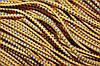Резинка круглая, шляпная 2.5мм, (50м) желтый + василек