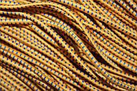 Резинка круглая, шляпная 2.5мм, (50м) желтый + василек , фото 1