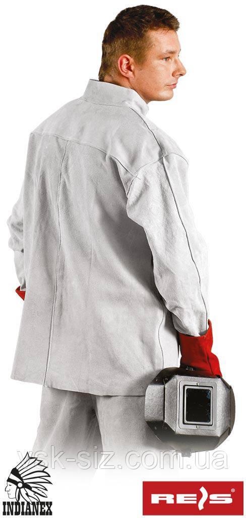 Кожаная защитная куртка KSB для сварщика
