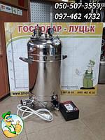 Автоклав бытовой электрический Блеск 21Е с автоматическим терморегулятором на 21 л. банку