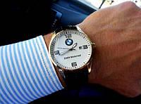 Мусжкие кварцевые наручные часы BMW серебро, магазин мужских часов