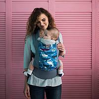 "Эрго Рюкзак ""Кити"" слинг переноска Dlight X Лав & Кери  Хлопок 100% Love Baby Carriers ерго cлiнг sling"