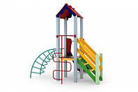 Детский игровой комплекс Петушок, высота горки 0,9 м