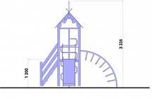 """Детский игровой комплекс """"Петушок"""", 1,2 м, фото 2"""