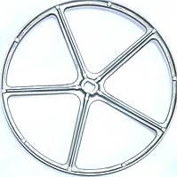 Шкив для стиральной машинки Indesit/Ariston C00064527 (482000027158).D=280mm,H=17mm.Оригинал.
