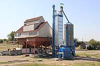 Зерносушилка работающая на соломе и дровах