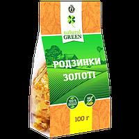 Изюм золотой, 100 г, NATURAL GREEN