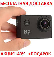 Экшн камера ORIGINAL size Sports Cam FullHD 1080p 2' экран A7 Action camera А 7