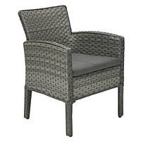 Крісло плетене з подушками    GENEVA 64х62х85,5см