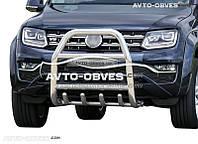 Защитная дуга переднего бампера VW Amarok 2016-... (п.к. RR04)