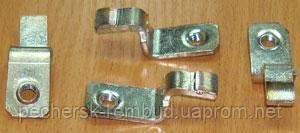 Контакты  КПЕ 6 (КПД 6) неподвижные медь, фото 2