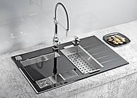 Кухонная мойка Alveus Crystalix 20L black I 86*54