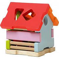 Игрушка деревянная Сортер дом LS-1/11599