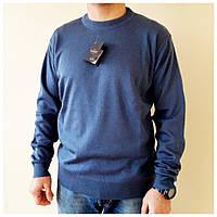 Теплый мужской свитер Турция (цвет светло-синий), фото 1