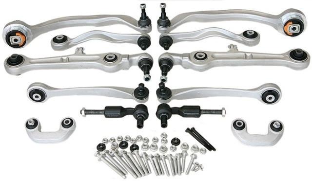 Комплект рычагов подвески SKV для Audi A4/A6, VW Passat B5 Superb