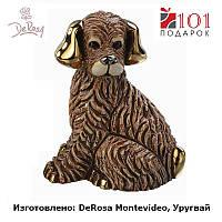Статуэтка DeRosa - Собака, керамика, отделка позолота, коллекционная