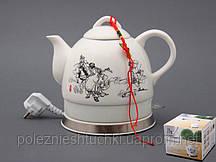 """Электрический чайник с керамическим корпусом """"Япония"""" 1,2 л."""