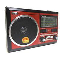 Портативная колонка MP3 USB Golon RX-277LSD Solar с солнечное панелью Red
