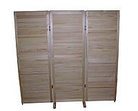 Ширма трехсекционная деревянная S-6614