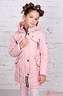 Детская демисезонная куртка-парка