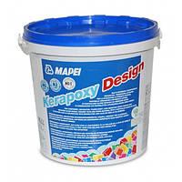 Строительная химия Mapei Клей-зат Kerapoxy Design 720/3кг серый
