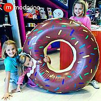 Modarina Надувной шоколадный круг Пончик 120 см
