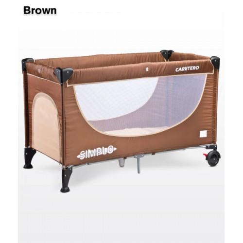 Детская кровать манеж Caretero Simplo