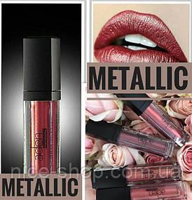 Жидкая стойкая помада Aden Metal Lipstick металлик, тон №03, Maria Luisa